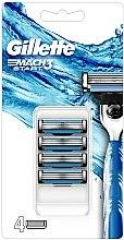 Profumi e cosmetici Cassette di rasatura sostituibili - Gillette Mach3 Start Razor Blades