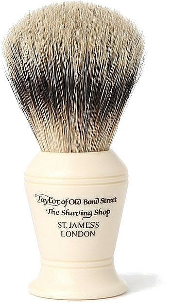 Pennello da barba, S375 - Taylor of Old Bond Street Shaving Brush Super Badger size M — foto N1