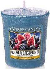 Profumi e cosmetici Candela profumata - Yankee Candle Mulberry and Fig Delight Votive
