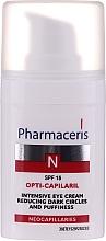 Profumi e cosmetici Crema contorno occhi - Pharmaceris N Opti-Capilaril Intensive Eye Cream Reducing Dark Circles and Puffiness