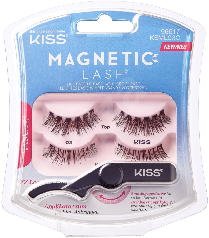 Ciglia finte magnetiche - Kiss Magnetic Lash Type 3 — foto N1