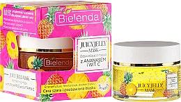 Profumi e cosmetici Maschera viso con ananas e vitamina C - Bielenda Juicy Jelly Mask