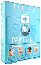 Profumi e cosmetici Set - Talika SOS Party Kit (mask/20g + eye/patch/2x2pz. + mask/25g)