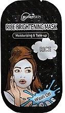 Profumi e cosmetici Maschera viso a base di riso - PurenSkin Rice Brightening Mask