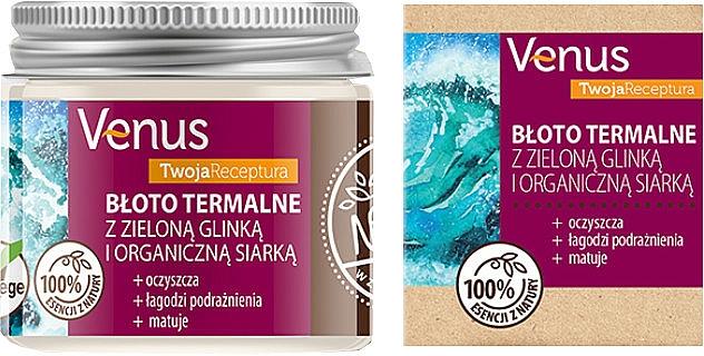 Fango termale con argilla verde e zolfo biologico - Venus Nature Your Recipe Thermal Mud With Green Clay And Organic Sulfur — foto N1