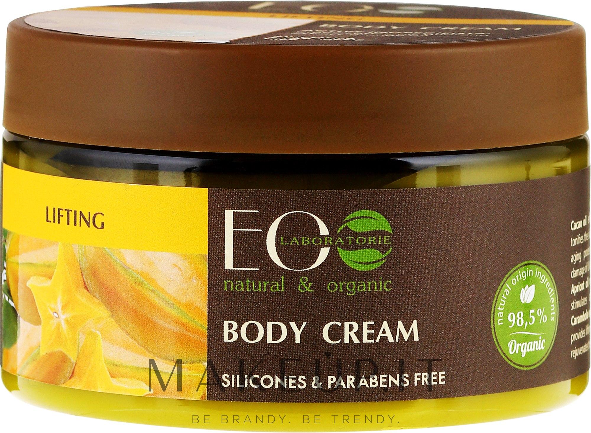 """Crema corpo """"Lifting"""" - Eco Laboratorie Lifting Body Cream — foto 250 ml"""
