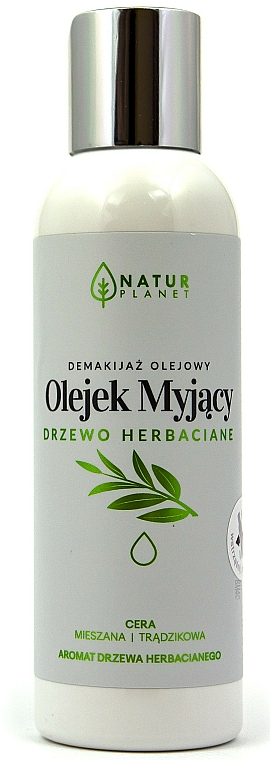 Olio detergente viso - Natur Planet Washing Oil Tea Tree