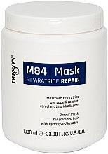 Profumi e cosmetici Maschera rigenerante per capelli colorati con cheratina idrolizzata - Dikson M84 Repair Mask