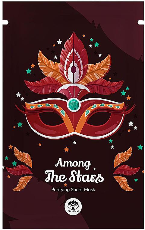 Maschera viso in tessuto - Dr Mola Among The Stars Purifying Mask — foto N1