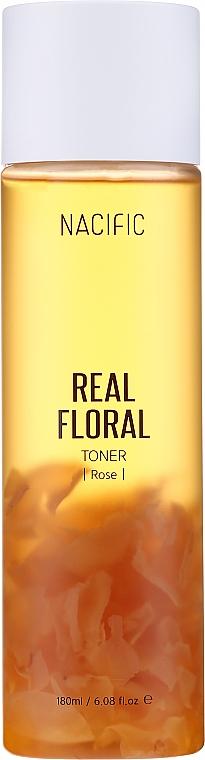 Tonico viso con petali di rosa - Nacific Real Floral Rose Toner