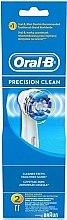 Profumi e cosmetici Testina di ricambio per spazzolino elettrico, 2 pezzi - Oral-B Precision Clean