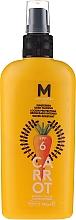 Profumi e cosmetici Crema solare per abbronzatura scura - Mediterraneo Sun Carrot Sunscreen Dark Tanning SPF6