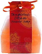 """Profumi e cosmetici Spugna-sapone """"Mandarin dream"""" - Bomb Cosmetics Tangerine Dream Shower Soap"""