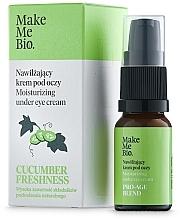 Profumi e cosmetici Crema contorno occhi con vitamina E ed estratto di cetriolo - Make Me BIO