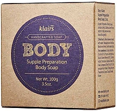 Profumi e cosmetici Sapone per viso e corpo - Klairs Supple Preparation Body Soap