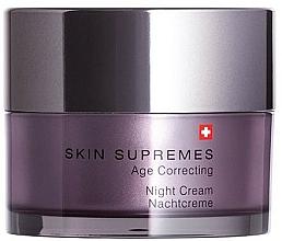 Profumi e cosmetici Crema viso da notte - Artemis of Switzerland Skin Supremes Age Correcting Night Cream