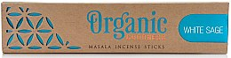 Profumi e cosmetici Bastoncini di incenso - Song Of India Organic Goodness White Sage