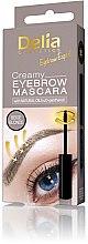 Profumi e cosmetici Mascara cremoso per le sopracciglia - Delia Creamy Eyebrow Mascara