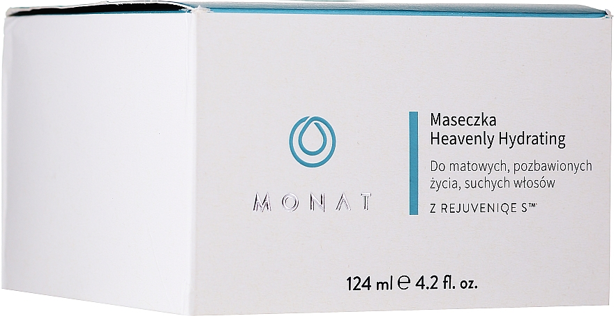 Maschera per capelli idratante - Monat Heavenly Hydrating Masque — foto N2