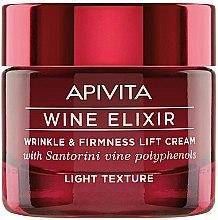 Profumi e cosmetici Crema lifting antirughe - Apivita Wine Elixir Cream