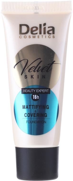Fondotinta opacizzante - Delia Mineral Velvet Skin