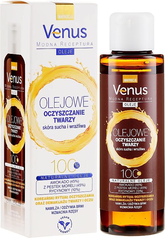 Olio detergente per pelli secche e sensibili - Venus Cleansing Oil