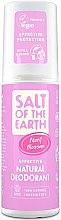 Profumi e cosmetici Deodorante spray naturale - Salt of the Earth Peony Blossom Spray