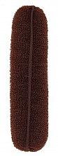 Profumi e cosmetici Ciambella per capelli, marrone, 150 mm - Lussoni Hair Bun Roll Brown