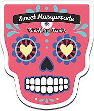 Profumi e cosmetici Maschera viso in tessuto - Dr Mola Sweet Masquarade Red&Pink Fruits mask