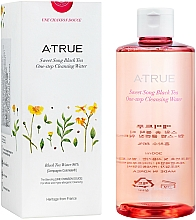 Profumi e cosmetici Acqua detergente con complesso multifrutta ed estratto di tè nero - A-True Sweet Song Black Tea One-Step Cleansing Water