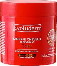 Profumi e cosmetici Maschera per capelli colorati - Evoluderm Color Masque