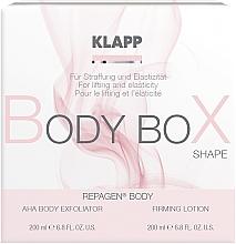 Profumi e cosmetici Set - Klapp Repagen Body Box Shape (peel/200ml + b/lot/200ml)