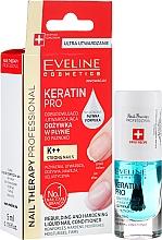Profumi e cosmetici Condizionante per unghie - Eveline Cosmetics Nail Therapy Professional Keratin Pro