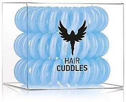 Profumi e cosmetici Elastico per capelli, azzurro ,3 pezzi - HH Simonsen Hair Cuddles Light Blue