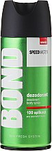 Profumi e cosmetici Deodorante - Bond Speedmaster Deo Spray