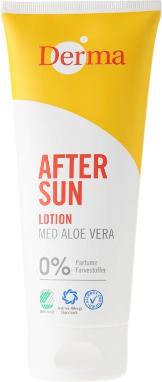 Lozione doposole all'estratto di aloe - Derma After Sun Lotion Med Aloe Vera
