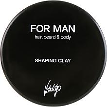 Profumi e cosmetici Argilla modellante per lo styling dei capelli - Vitality's For Man Shaping Clay