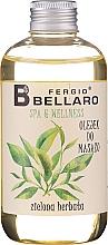 """Profumi e cosmetici Olio da massaggio """"Tè verde"""" - Fergio Bellaro Massage Oil Green Tea"""