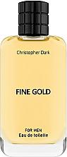 Profumi e cosmetici Christopher Dark Fine Gold - Eau de toilette