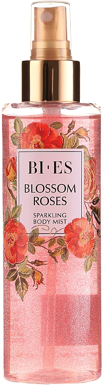 Bi-es Blossom Roses Sparkling Body Mist - Mist corpo profumato