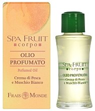 Profumi e cosmetici Frais Monde Spa Fruit Peach And White Musk Perfumed Oil - Olio profumato