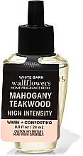 Profumi e cosmetici Bath and Body Works Mahogany Teakwood High Intensity Wallflowers Fragrance - Diffusore di aromi (unità di ricambio)
