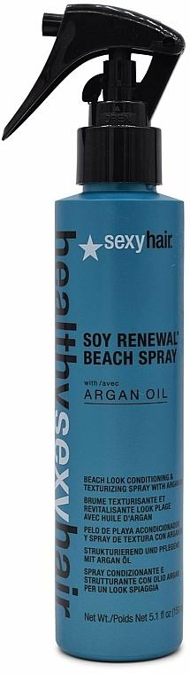Spray per capelli - SexyHair HealthySexyHair Soy Renewal Beach Spray — foto N1