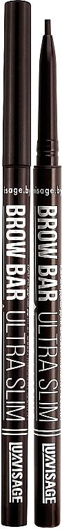 Matita per sopracciglia meccanica - Luxvisage Brow Bar Ultra Slim