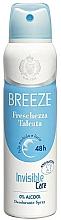 Profumi e cosmetici Breeze Deo Freschezza Talcata - Deodorante corpo