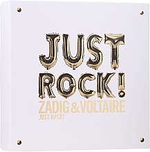 Profumi e cosmetici Zadig & Voltaire Just Rock - Set (edp/50ml + b/lot/50ml/sh/gel/50ml)
