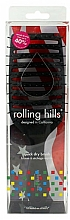 Profumi e cosmetici Spazzola per capelli asciugatura rapida, nera - Rolling Hills Hairbrushes Quick Dry Brush Black