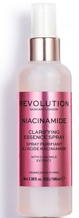 Spray viso - Makeup Revolution Niacinamide Clarifying Essence Spray