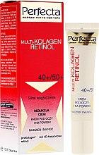 Profumi e cosmetici Crema contorno occhi - Dax Cosmetics Perfecta Multi-Collagen Retinol Eye Cream 40+/50+