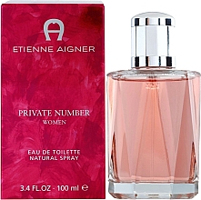 Profumi e cosmetici Etienne Aigner Private Number Women - Eau de toilette